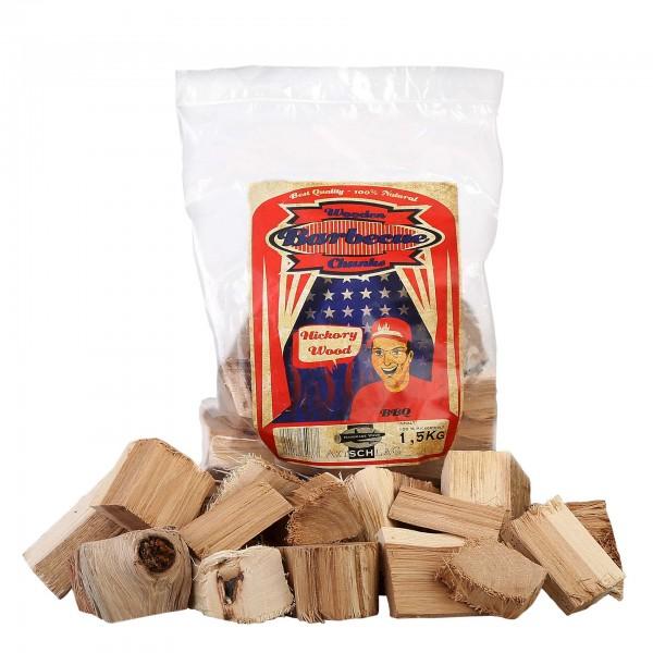 Axtschlag Räucherchunks - Hickory 1,5kg