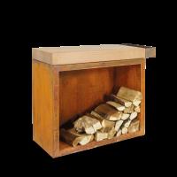 OFYR Butcher Block Storage 45-90-88-RW Rubberwood
