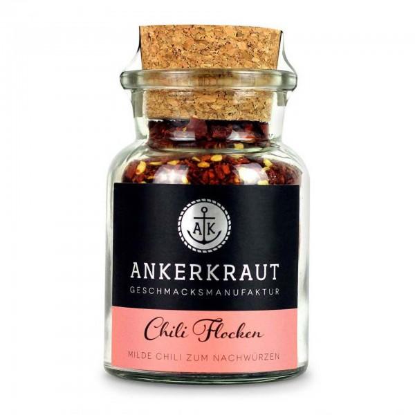 Ankerkraut Chili Flocken, im Korkenglas