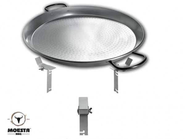 Moesta BBQ PAN'BBQ Set - für Smokin Pizzaring: 47 / 50cm