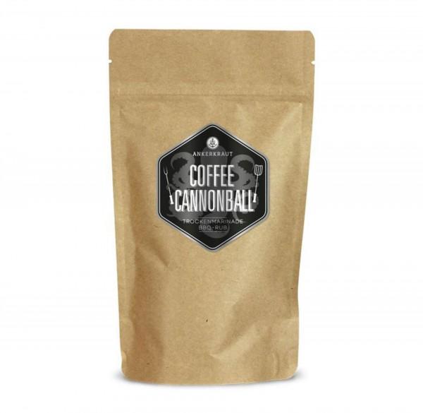 Ankerkraut BBQ-Rub Coffee Cannonball im Beutel 250g