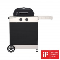 Outdoorchef - Arosa 570 G Tex, schwarz, Gaskugelgrill