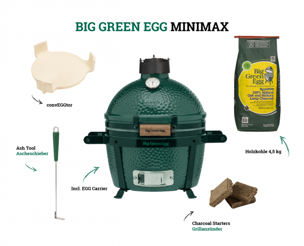 Big Green Egg - MiniMax Starter-Paket