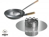 Moesta BBQ WOK'N BBQ Komplettpaket - für Kugelgrill (47cm) …