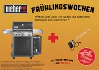 Weber Spirit E-330 Premium GBS Gasgrill, Black