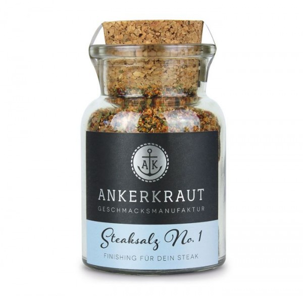 Ankerkraut Steaksalz No. 1 im Korkenglas 80g