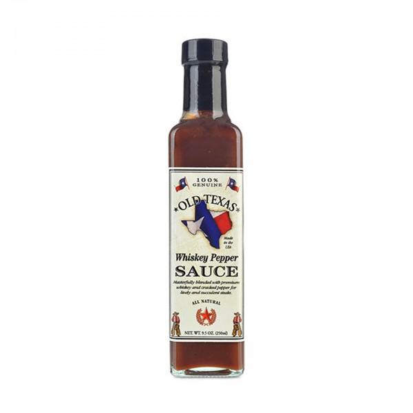 Old Texas Whiskey Pepper Steak Sauce 250ml