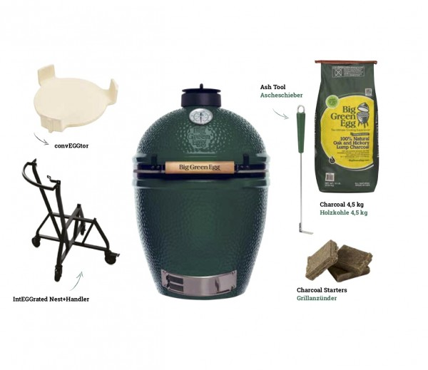 Big Green Egg Large Keramikgrill Starter-Paket