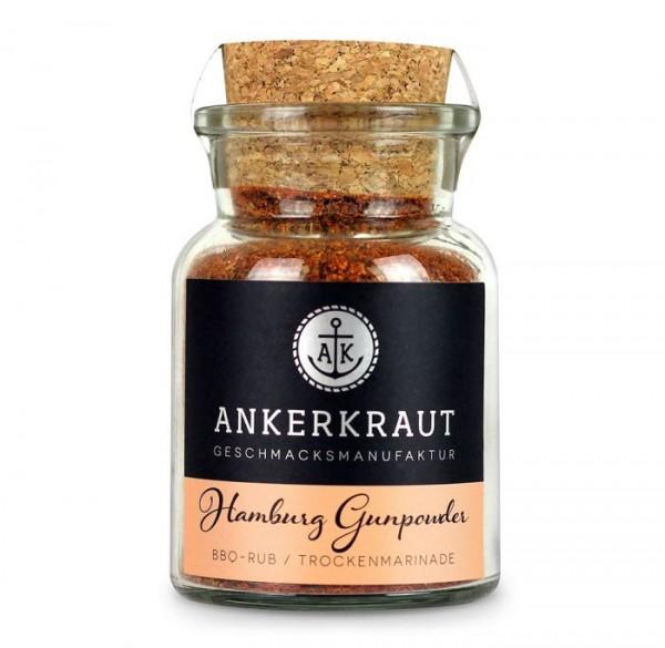 Ankerkraut BBQ-Rub Hamburg Gunpowder im Korkenglas 90g