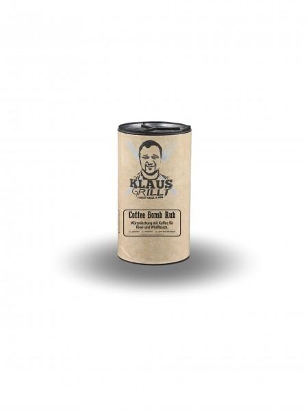 Klaus Grillt Coffee Bomb im Streuer