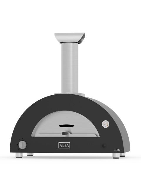 Alfa Pizzaofen Brio Top - schwarz