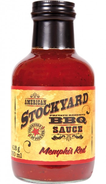 Stockyard Memphis Red BBQ Sauce 350ml