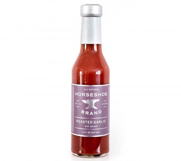 Horseshoe Brand Roasted Garlic Hot Sauce 237ml