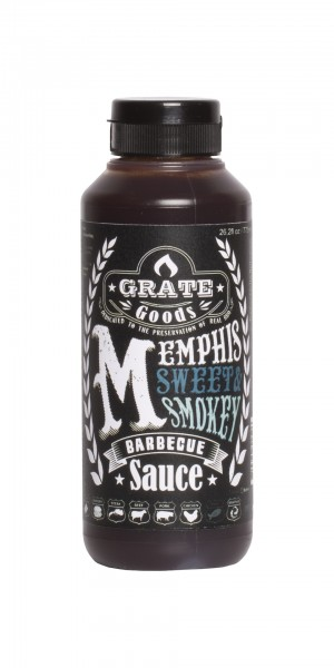 Grate Goods Memphis Sweet & Smokey Barbecue Sauce (klein) 265ml