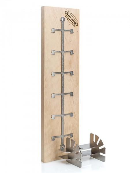 Axtschlag Flammlachsbrett Essential Line - Birkenholz (für Feuerschalen und Feuertonnen)