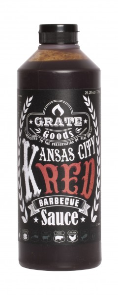 Grate Goods Kansas City Red Barbecue Sauce (groß) 775ml
