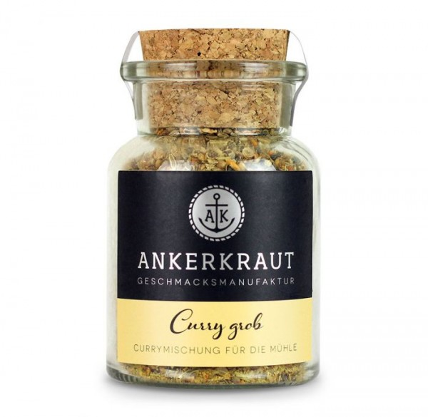 Ankerkraut Curry grob im Korkenglas
