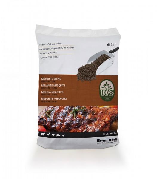 Broil King Pellets Mesquite Blend - 9kg Beutel (Mesquite/Eiche)