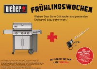 Weber Genesis II SP-335 GBS Gasgrill, Edelstahl