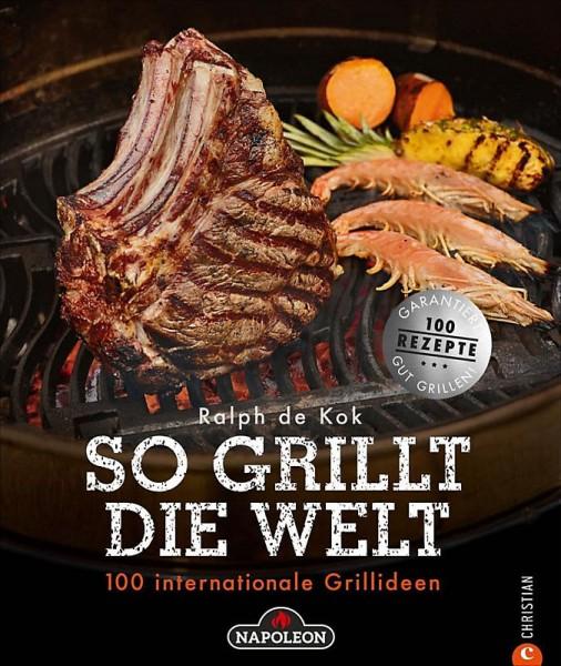 """Napoleon Grillbuch """"So grillt die Welt"""""""