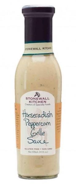 Stonewall Kitchen Horseradish Peppercorn Grill Sauce 330ml