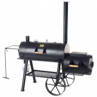 "JOE´s BBQ Smoker 16"" Reverse Flow Smoker, lange Version"