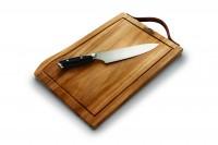 Napoleon President Edition Schneidebrett inkl. PRO Chef Messer (2 Teile)