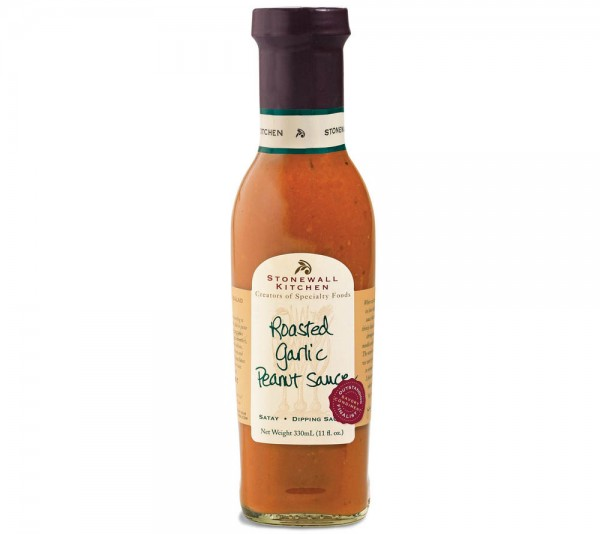 Stonewall Kitchen Roasted Garlic Peanut Sauce (330ml)
