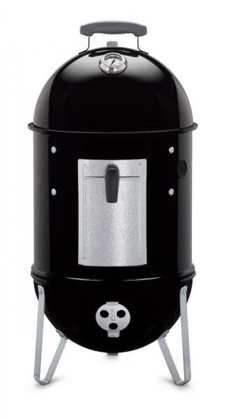 Weber Smokey Mountain Cooker Smoker 37 cm, Black