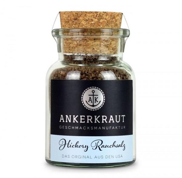 Ankerkraut Hickory Rauchsalz im Korkenglas 90g