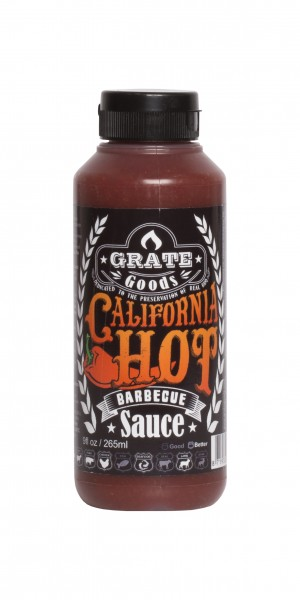 Grate Goods California Hot Barbecue Sauce (klein) 265ml