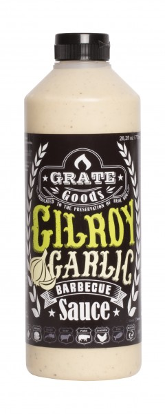 Grate Goods Gilroy Garlic Barbecue Sauce (groß) 775ml