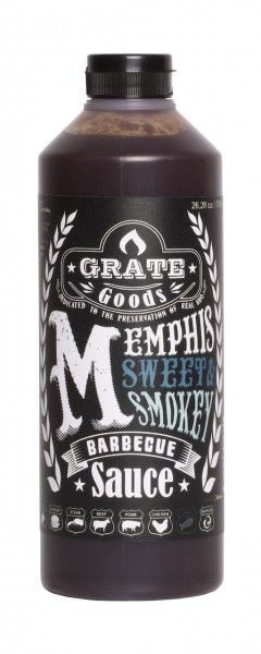 Grate Goods Memphis Sweet und Smokey Barbecue Sauce (gross) 775ml