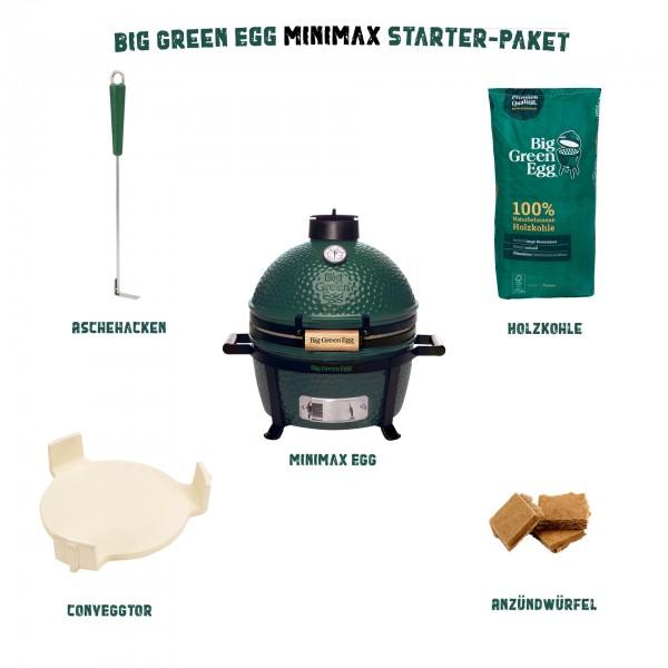 Big Green Egg MiniMax Starter-Paket