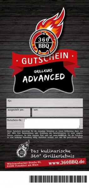 Grillkurs - Advanced