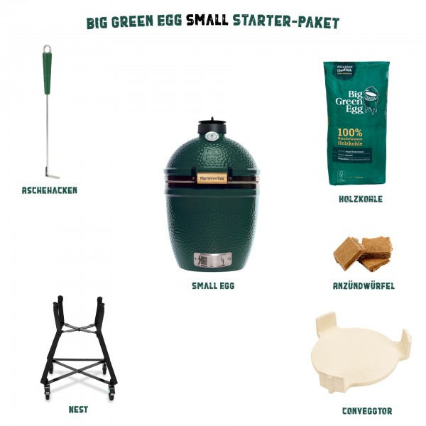 Big Green Egg Small Starter-Paket