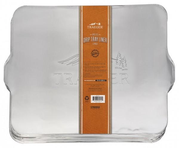 Traeger Fettauffangschale / Abtropfblech für Pro 575 (5er Pack)