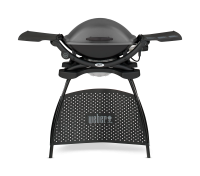 Weber Q 2400 Elektrogrill mit Stand, Dark Grey