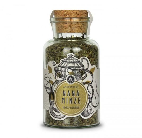 Ankerkraut Nana Minze, Kräuterteemischung im Korkenglas 35g