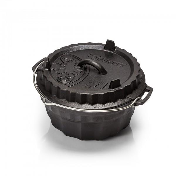 Petromax Gugelhupfform gf1 mit Tortenboden-Deckel