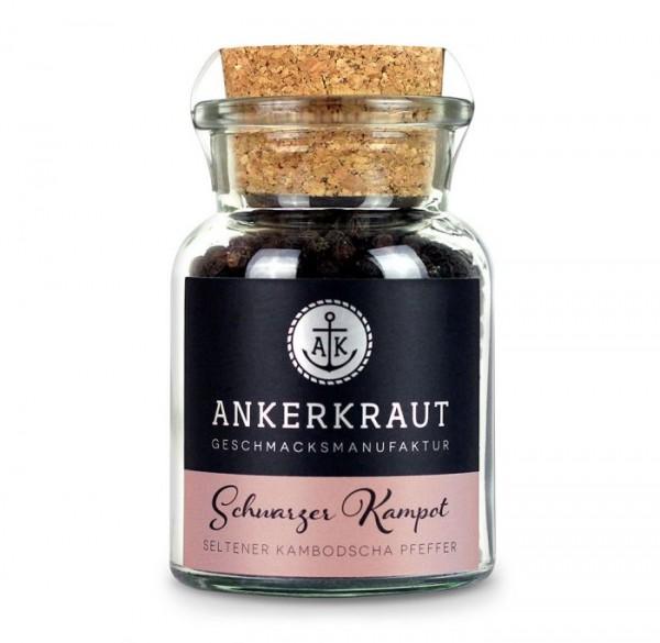 Ankerkraut Schwarzer Kampot im Korkenglas 80g