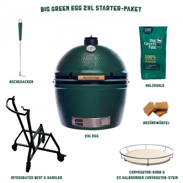 Big Green Egg 2XLarge Keramikgrill Starter-Paket