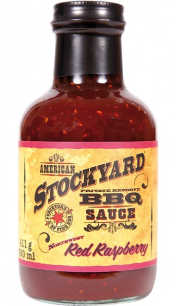 Stockyard Red Raspberry BBQ Sauce 350ml