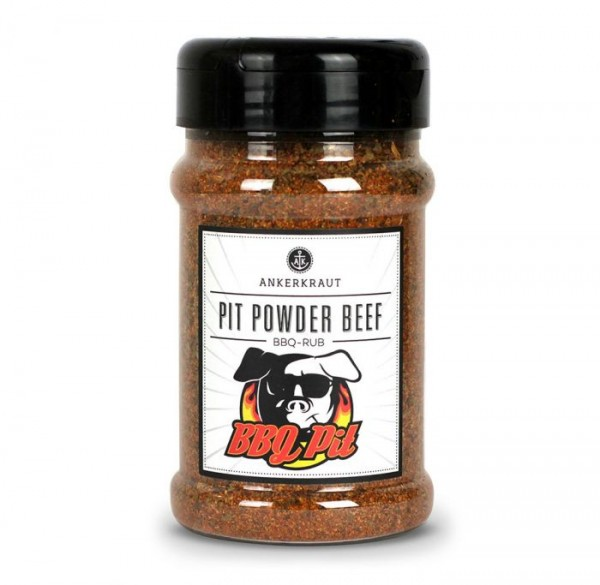 Ankerkraut BBQ-Rub Pit Powder Beef im Streuer 200g
