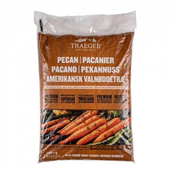 Traeger Pellets Pecan (Pekannuss) - 9kg Beutel