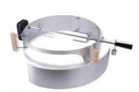 Moesta Smokin' PizzaRing - Rotisserie Set (57cm) Batterie