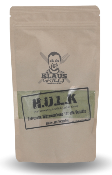 Klaus Grillt H.U.L.K im Beutel