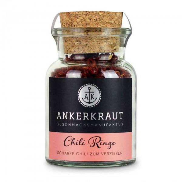 Ankerkraut Chili Ringe, im Korkenglas