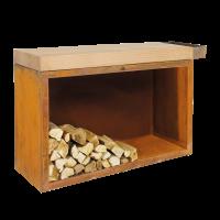 OFYR Butcher Block Storage 45-135-88-RW Rubberwood