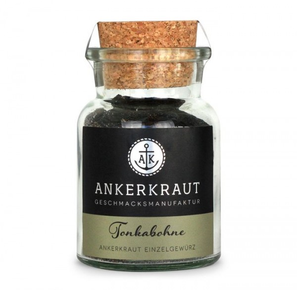Ankerkraut Tonkabohne im Korkenglas